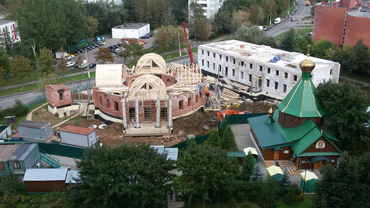 Храм Живоначальной Троицы в Чертанове