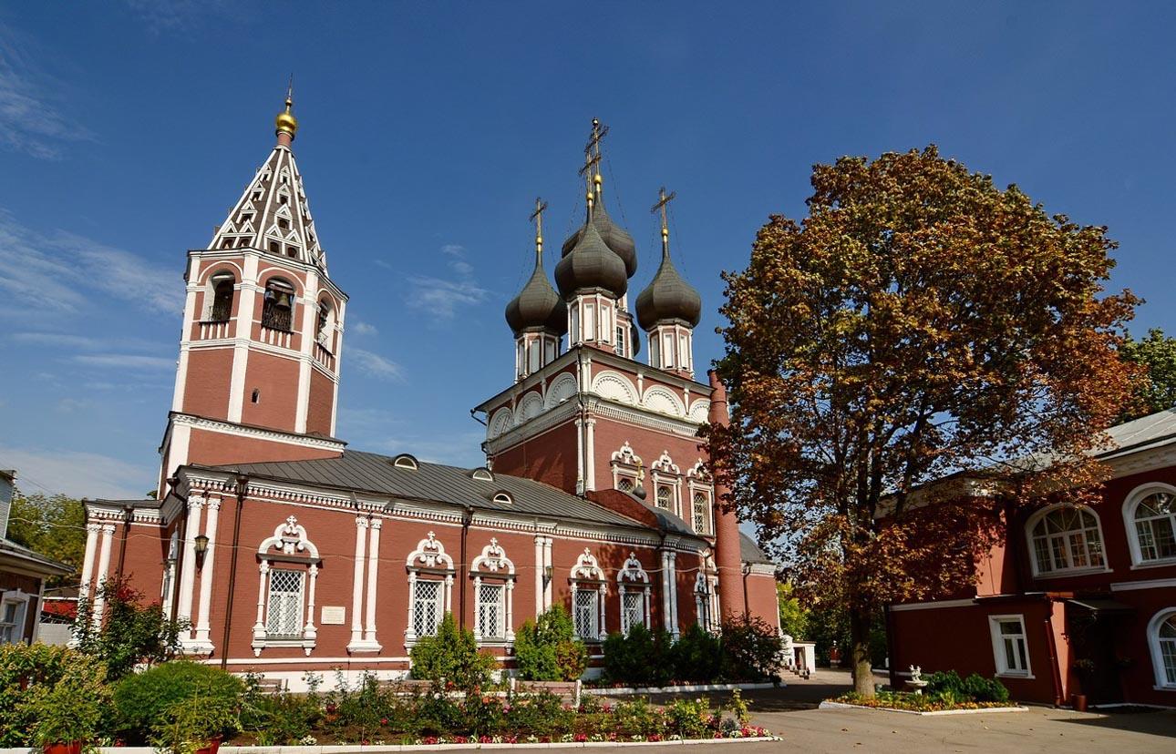 Храм Положения Ризы Господней на Донской улице