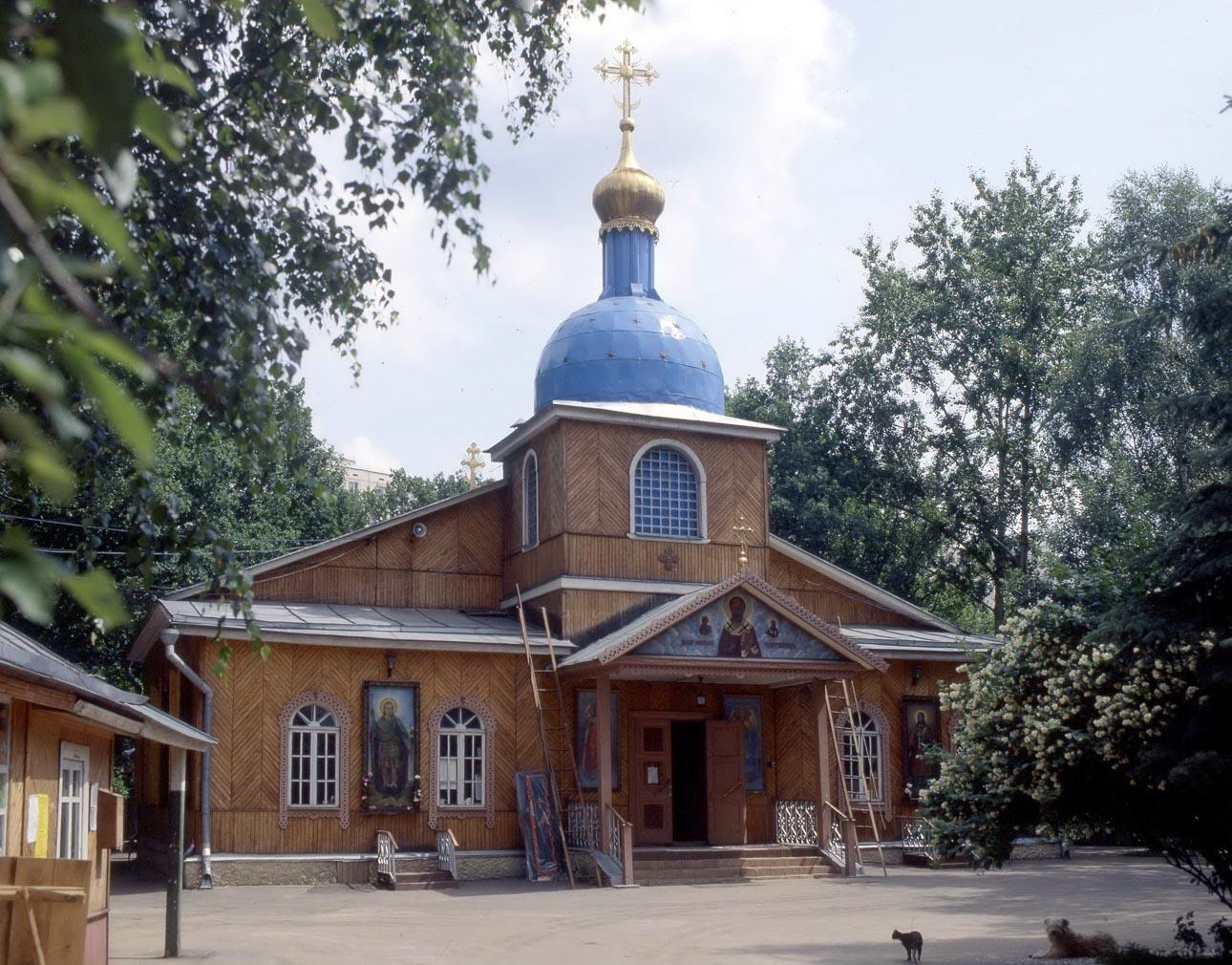 Храм свт. Николая Мирликийского, чудотворца в Бирюлеве