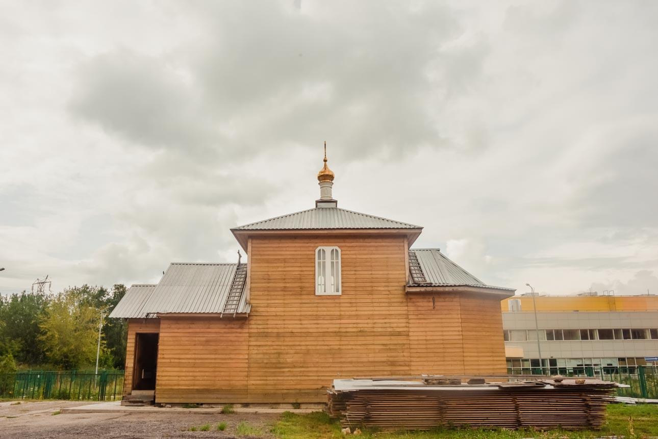 Храм Преображения Господня в Нагатино-Садовниках