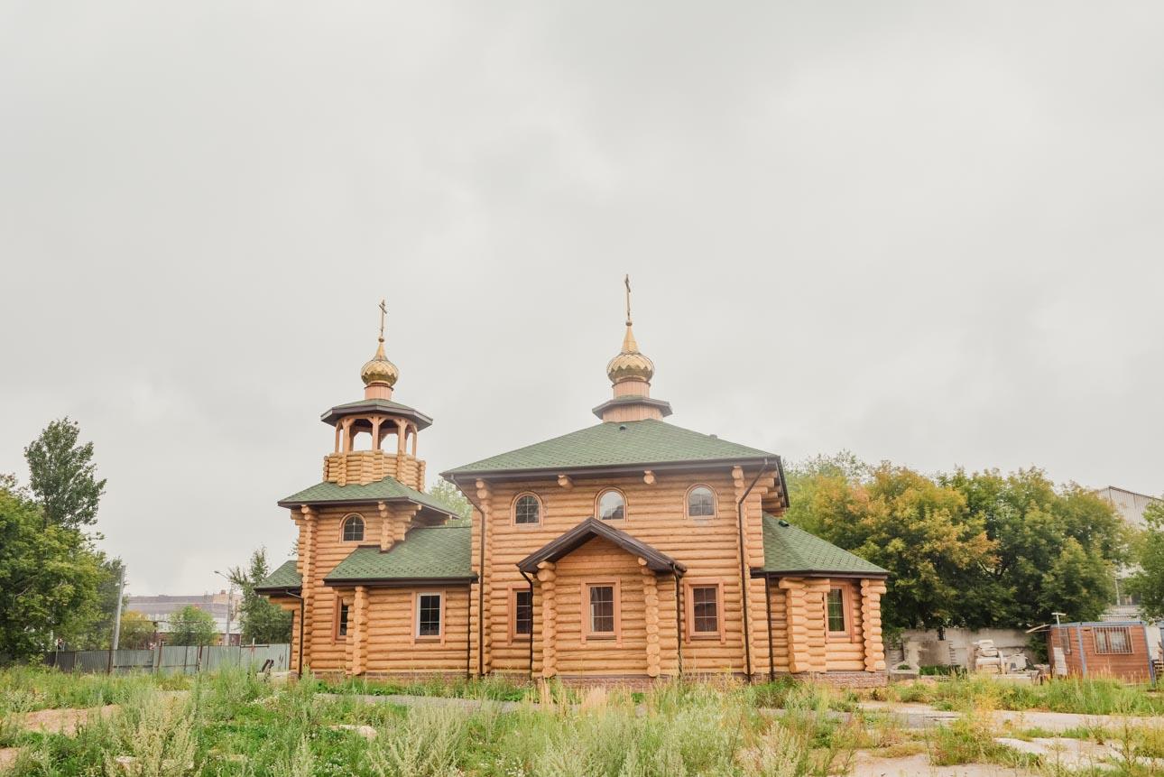 Храм св. прав. воина Феодора Ушакова в Нагорном