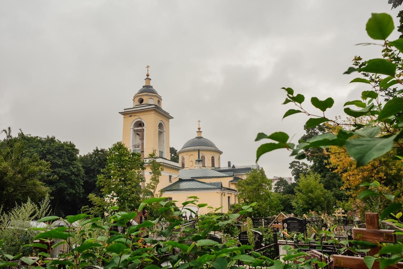 Храм Сошествия Святого Духа на Даниловском кладбище
