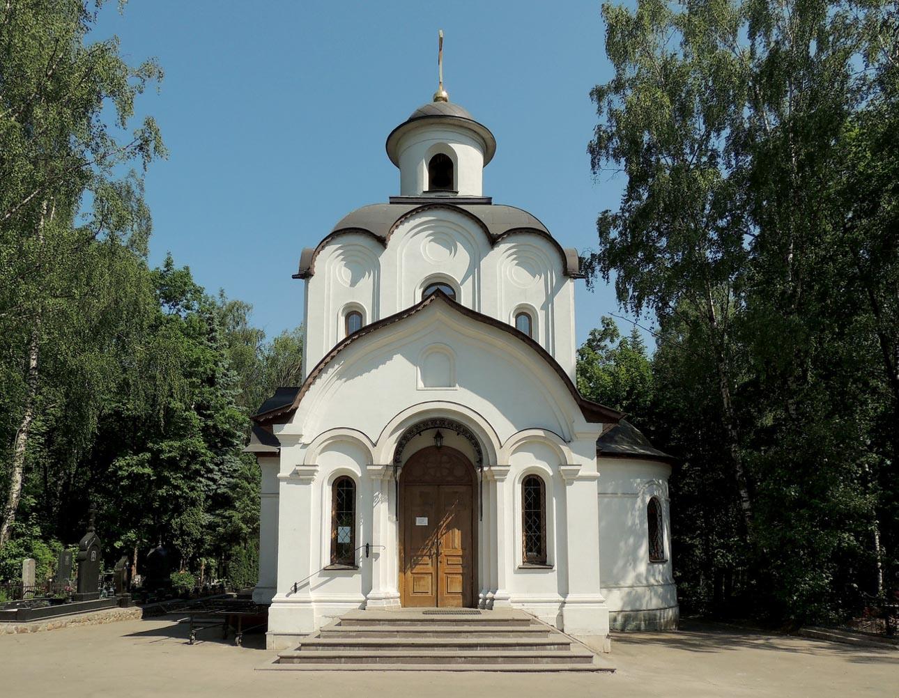 Храм Успения Пресвятой Богородицы на Котляковском кладбище