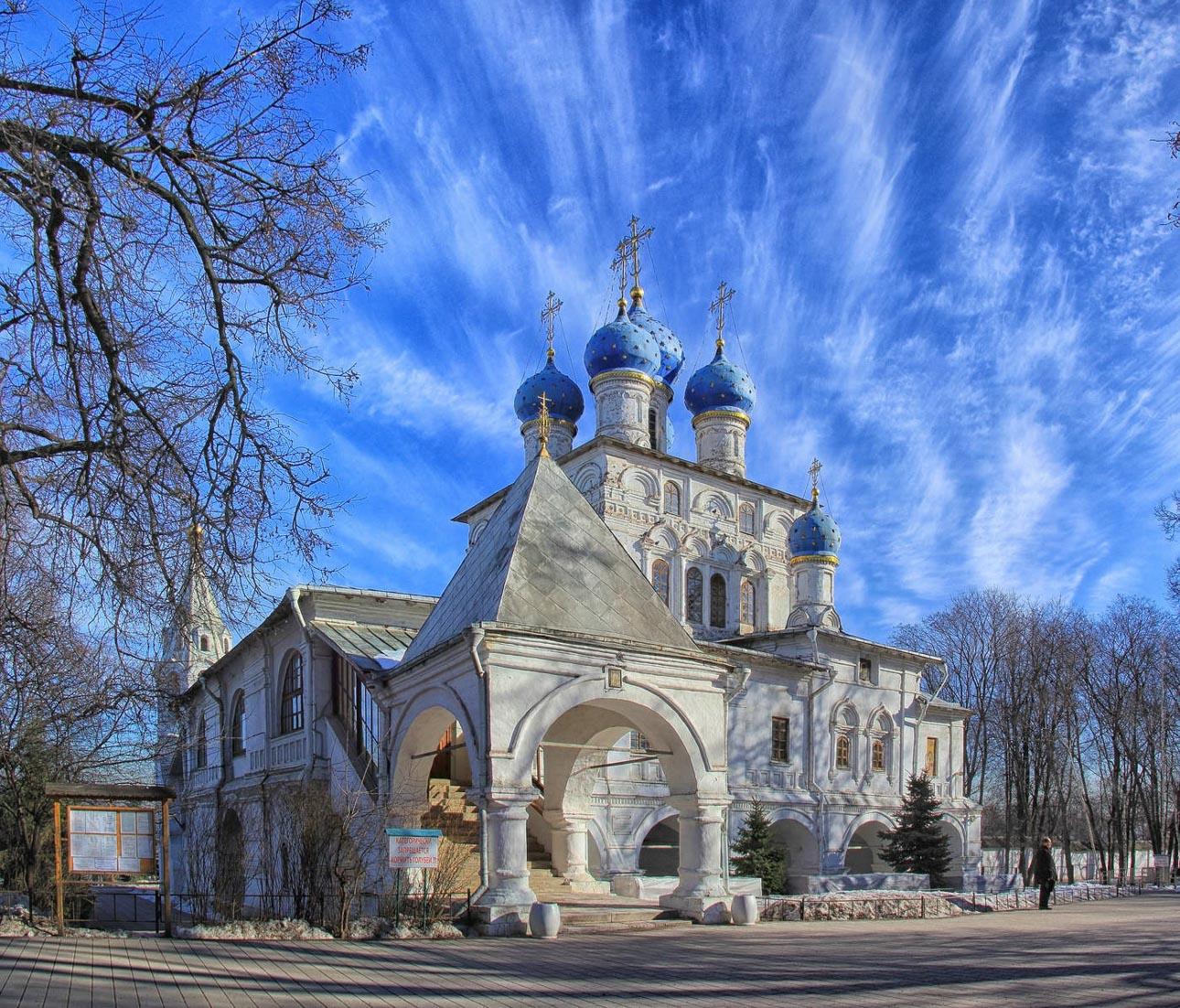 Храм иконы Божией Матери «Казанская» в Коломенском