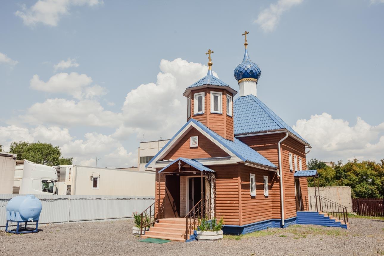Храм иконы Божией Матери «Достойно Есть» в Восточном Бирюлеве