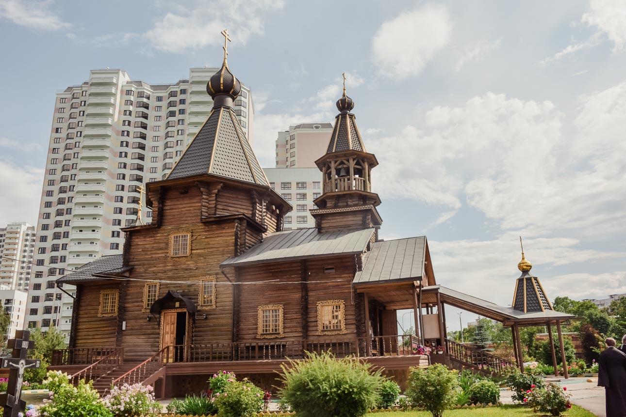 Храм иконы Божией Матери «Троеручица» в Орехове-Борисове