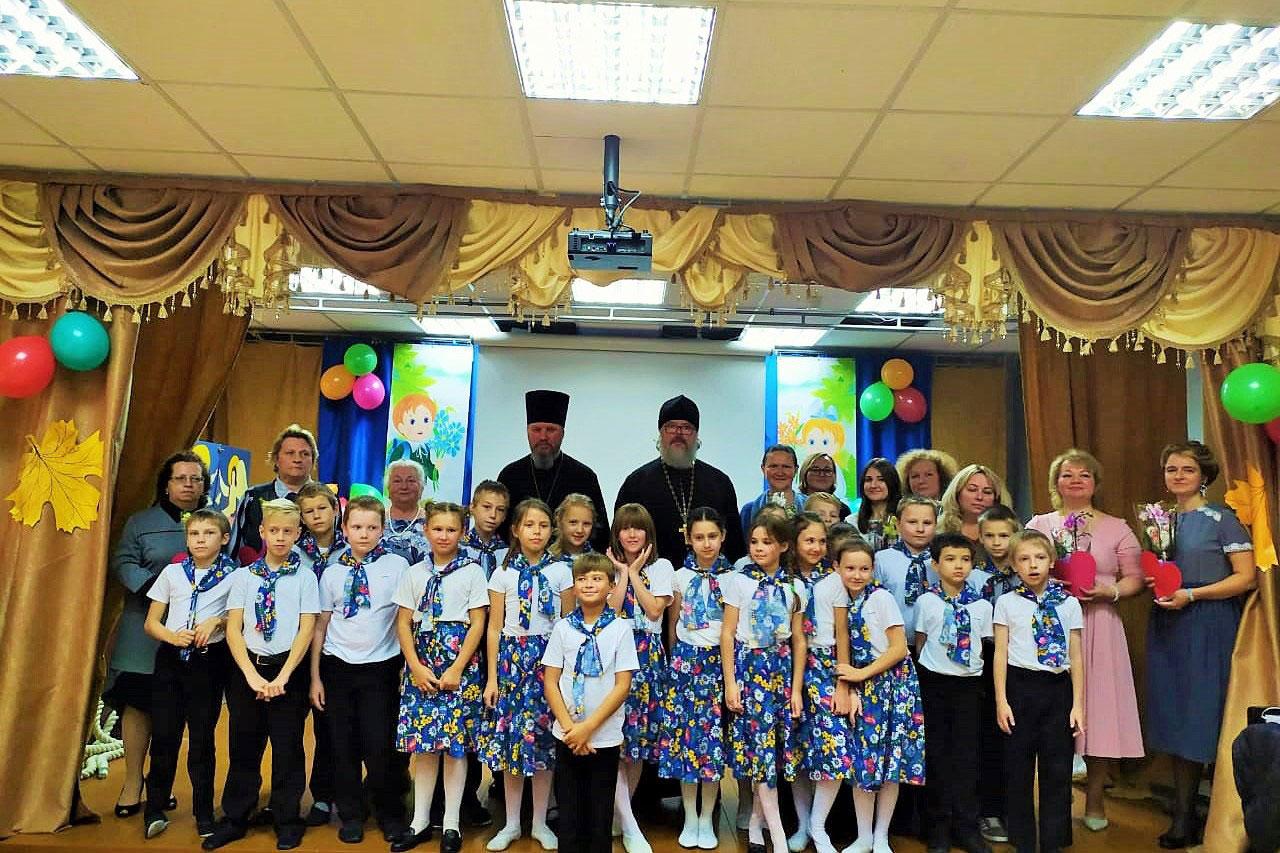 День учителя в Серафимовской гимназии