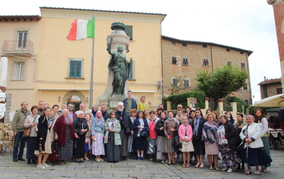 Поездка по святым местам Италии