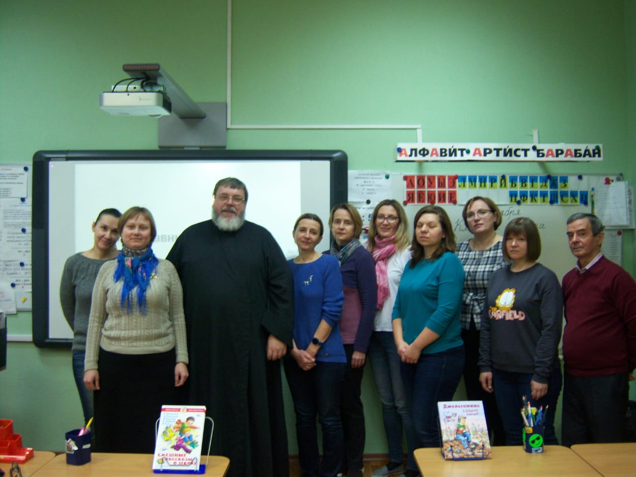 Постоянно действующие лектории для учителей ОРКСЭ и ОДНКНР в храмах Южного викариатства и школах ЮАО г. Москвы