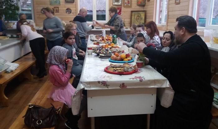 Посещение храма детьми-инвалидами из МРО МГО ВОИ «Чертаново Северное»