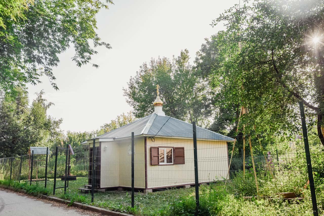 Храм св. блж. Ксении Петербургской в Даниловском Москва