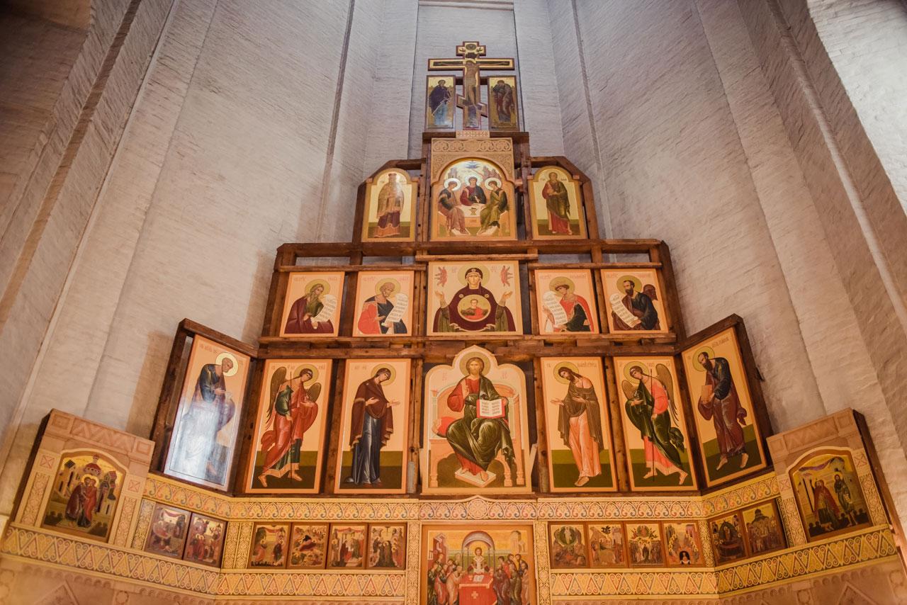 Храм Вознесения Господня в Коломенском Москва