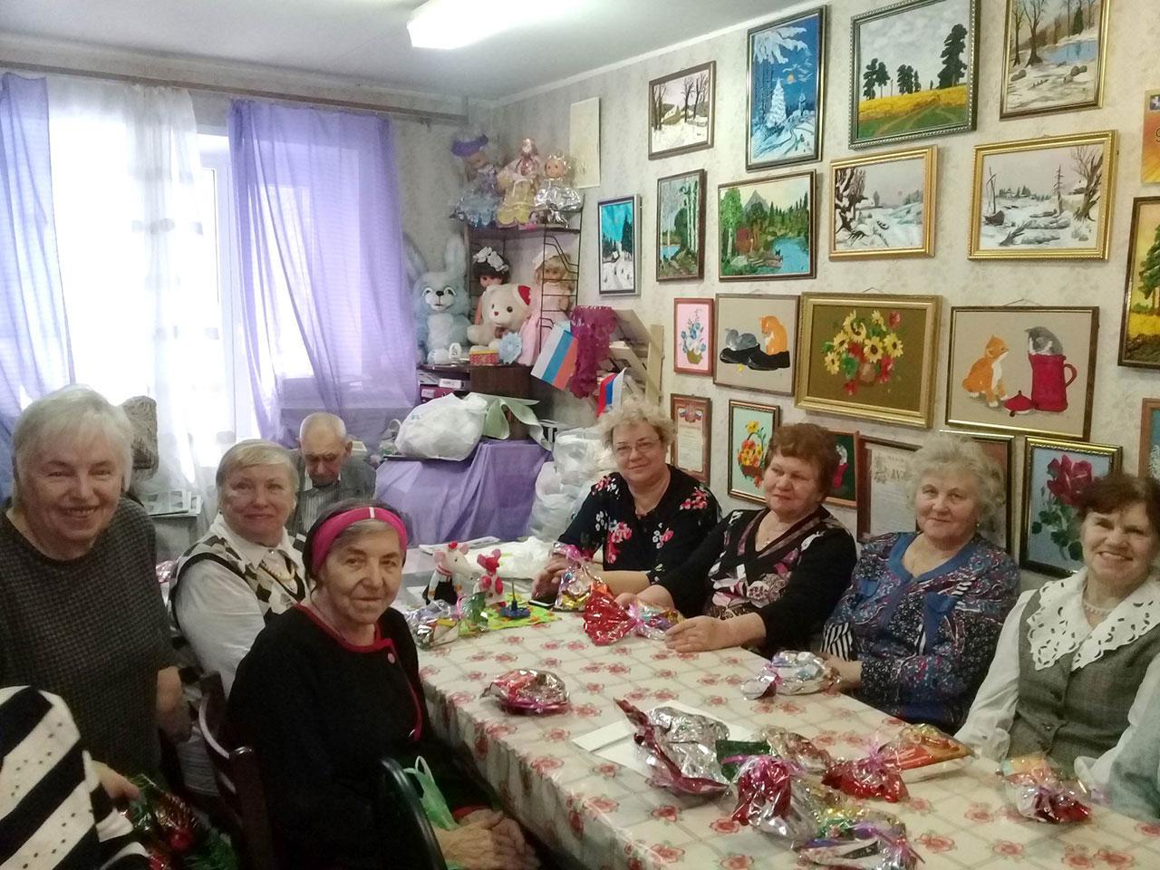 «Святки-2020»: посещение обществ инвалидов «Нагорный» и «Чертаново Северное»