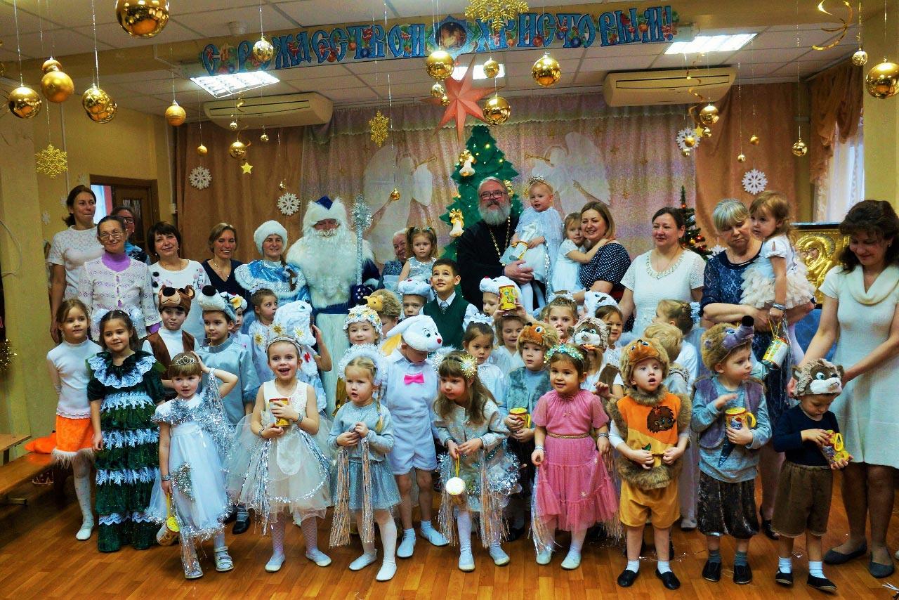 Рождественские мероприятия в православном центре во имя прп. Серафима Саровского