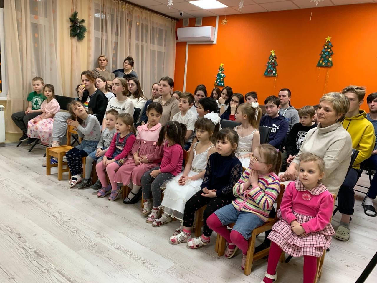 Рождественский праздник в Социальном приюте