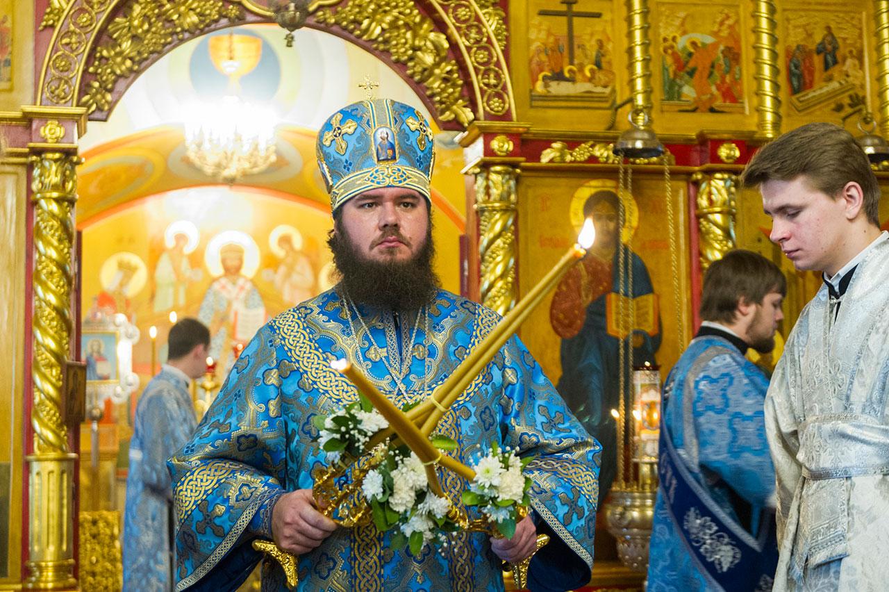 Престольный праздник в Псково-Печерском монастыре