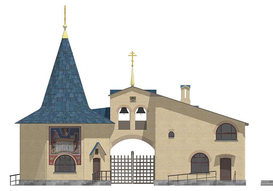 Председатель ФХУ согласовал архитектурно-градостроительное решение входной группы храмового комплекса в Царицыне
