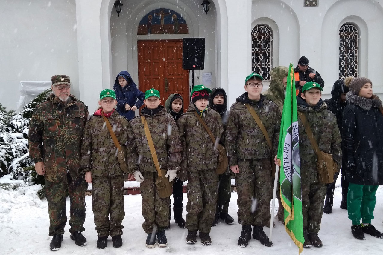 День Защитника Отечества команды «Серафимы»
