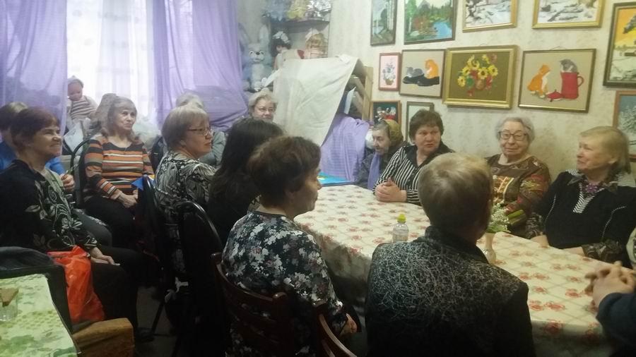 Встреча педагога-катехизатора храма Державной иконы Божией Матери в Чертанове с членами Общества инвалидов «Чертаново Северное»