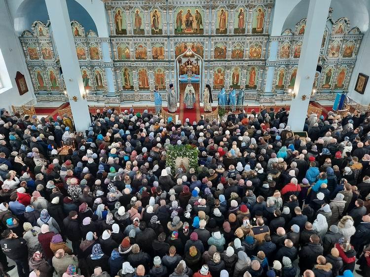 Престольный праздник храма Державной иконы Божией Матери в Чертанове