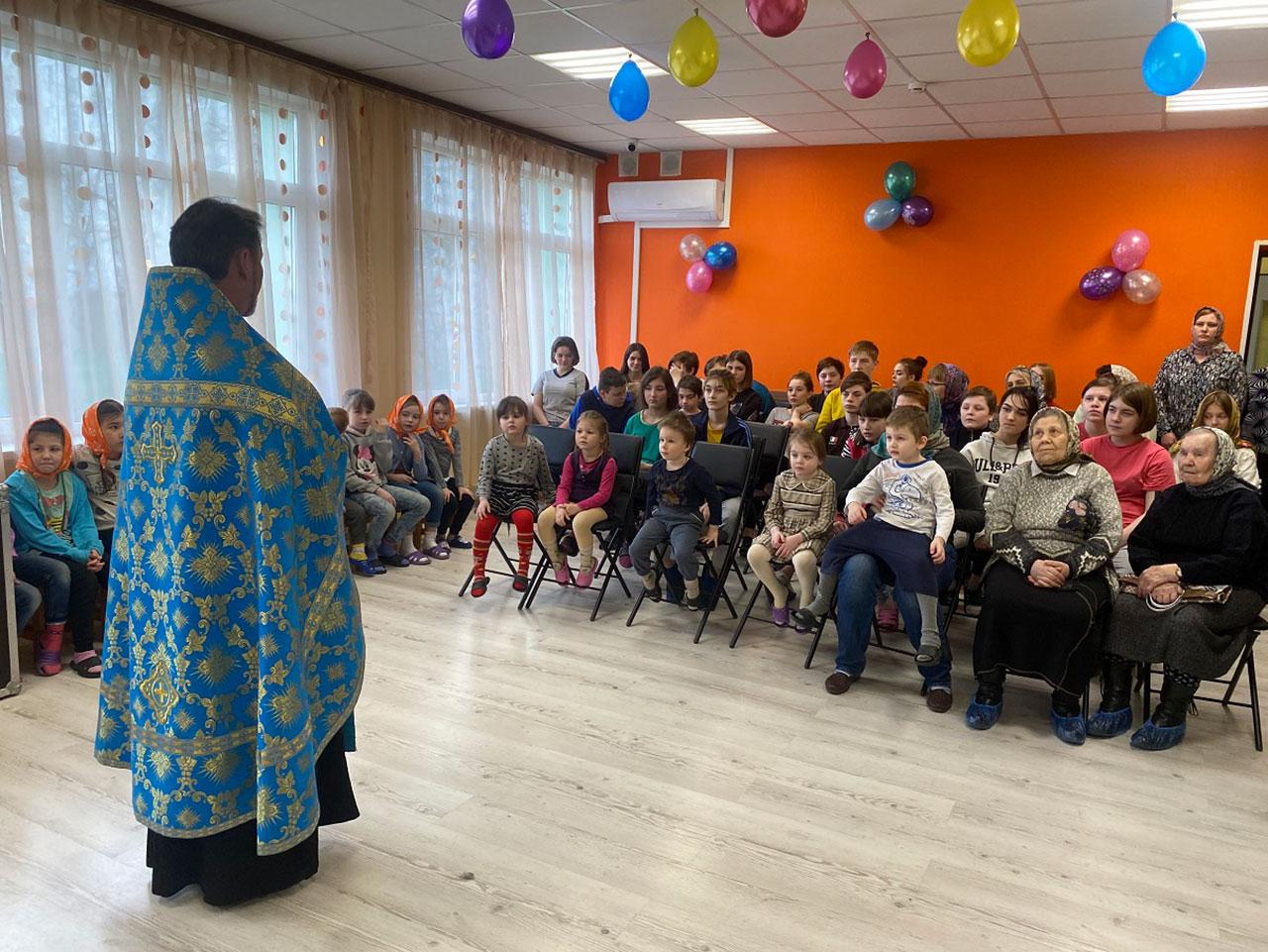 Встреча с воспитанниками и сотрудниками Центра поддержки семьи и детства