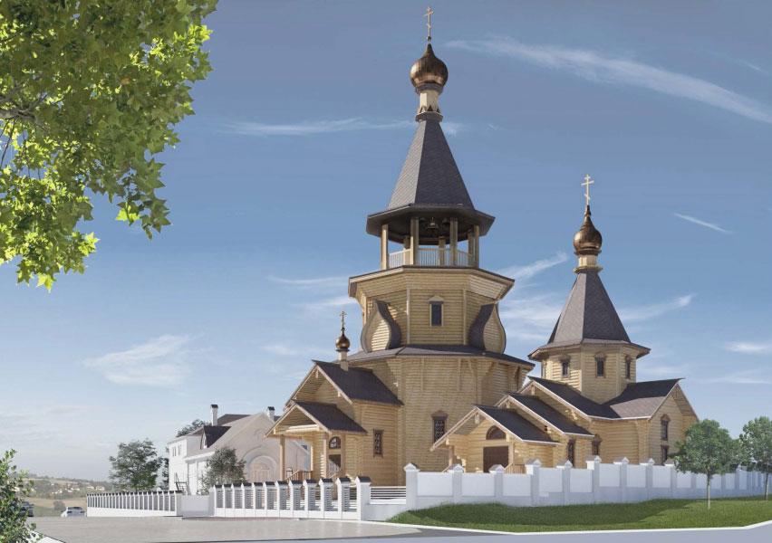 Храмовый комплекс с храмом преподобного Алексия, человека Божия, в Садовниках