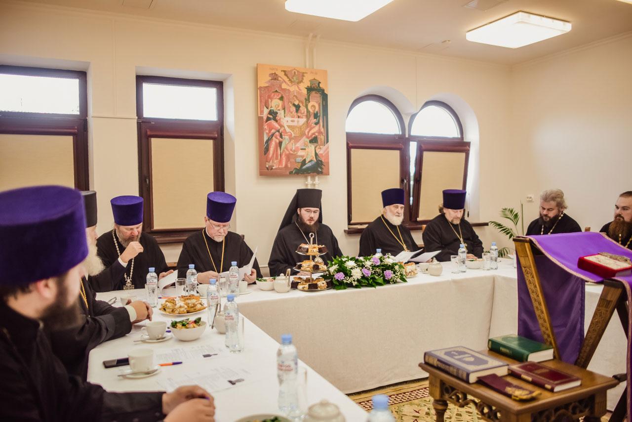 Состоялось заседание Совета Северо-Западного и Южного викариатств г. Москвы