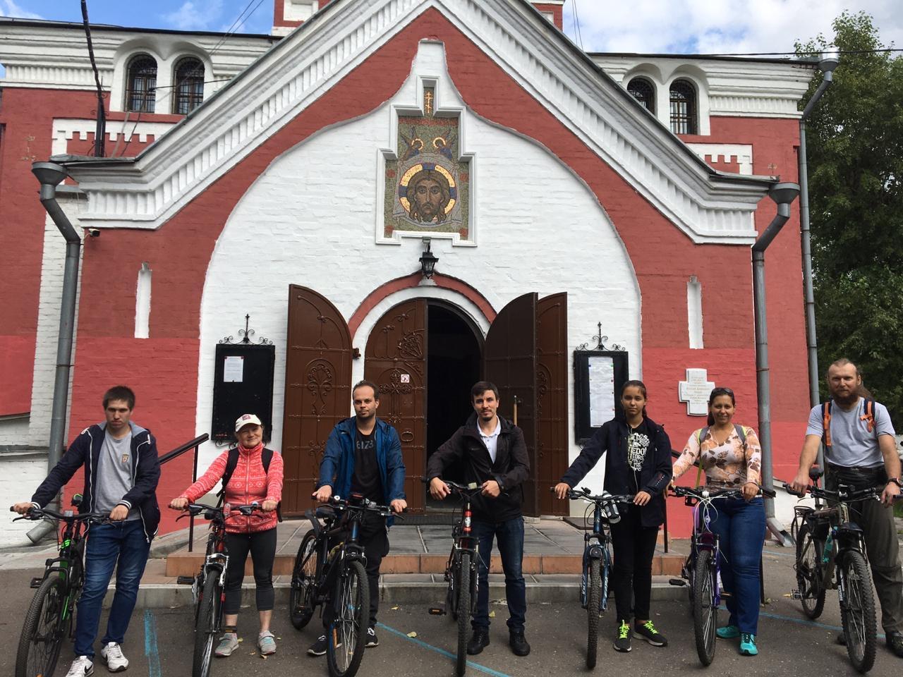 Велопоход молодежного клуба «Борисовцы»
