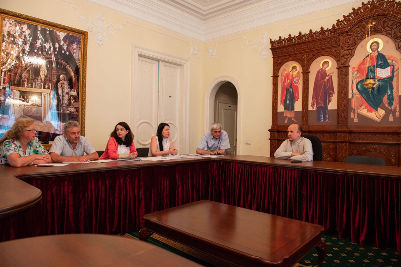 Состоялось совещание по вопросам строительства храма святителя Киприана в Чертанове