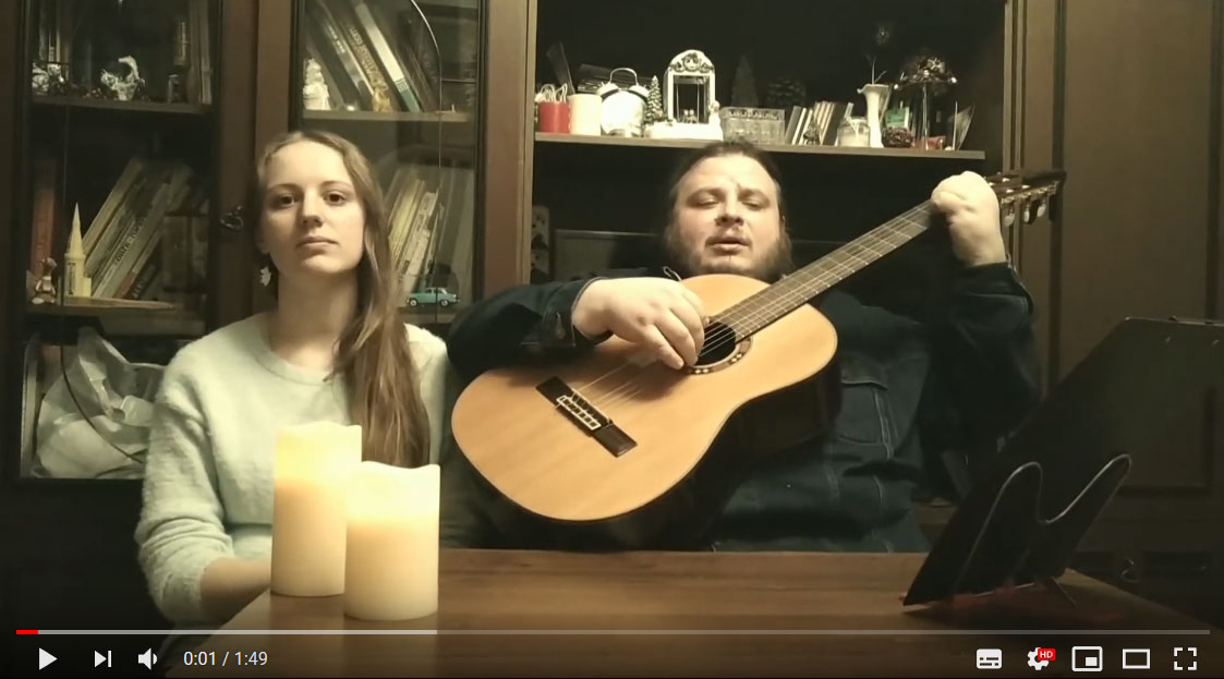 Видео-поздравления прихожан с праздником Крещения Руси