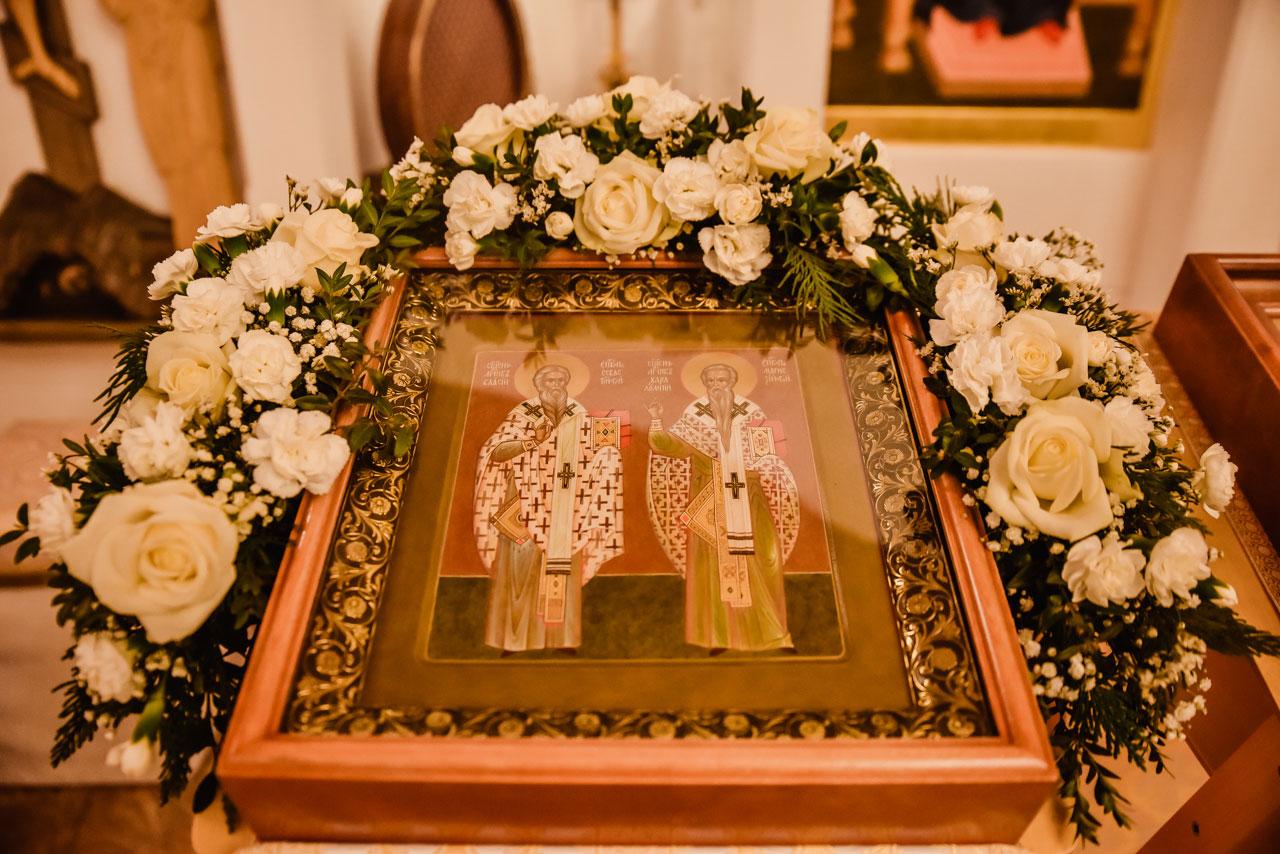 Епископ Фома совершил Великое освящение храма священномучеников Власия и Харалампия в Братееве