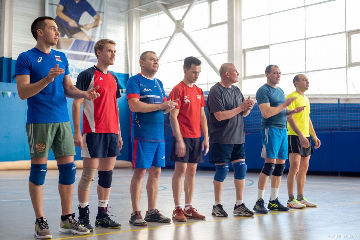 Волейбольный матч в ФОК на Таганке