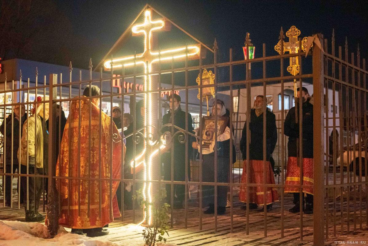 Седьмая годовщина установки Креста и начала молитвы в Аннино