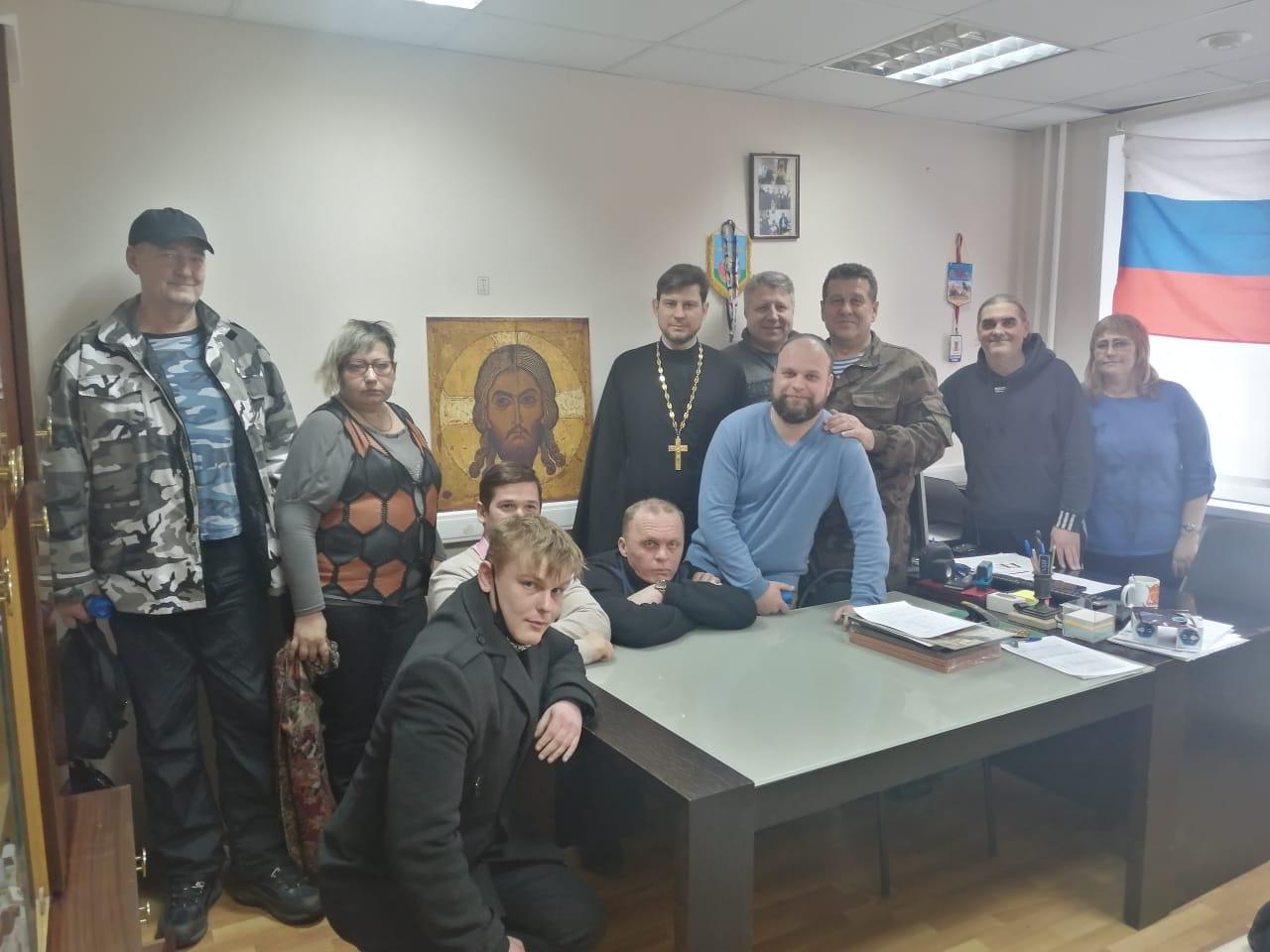 Казачий Круг в штабе ХКО «Чертаново-Южное»