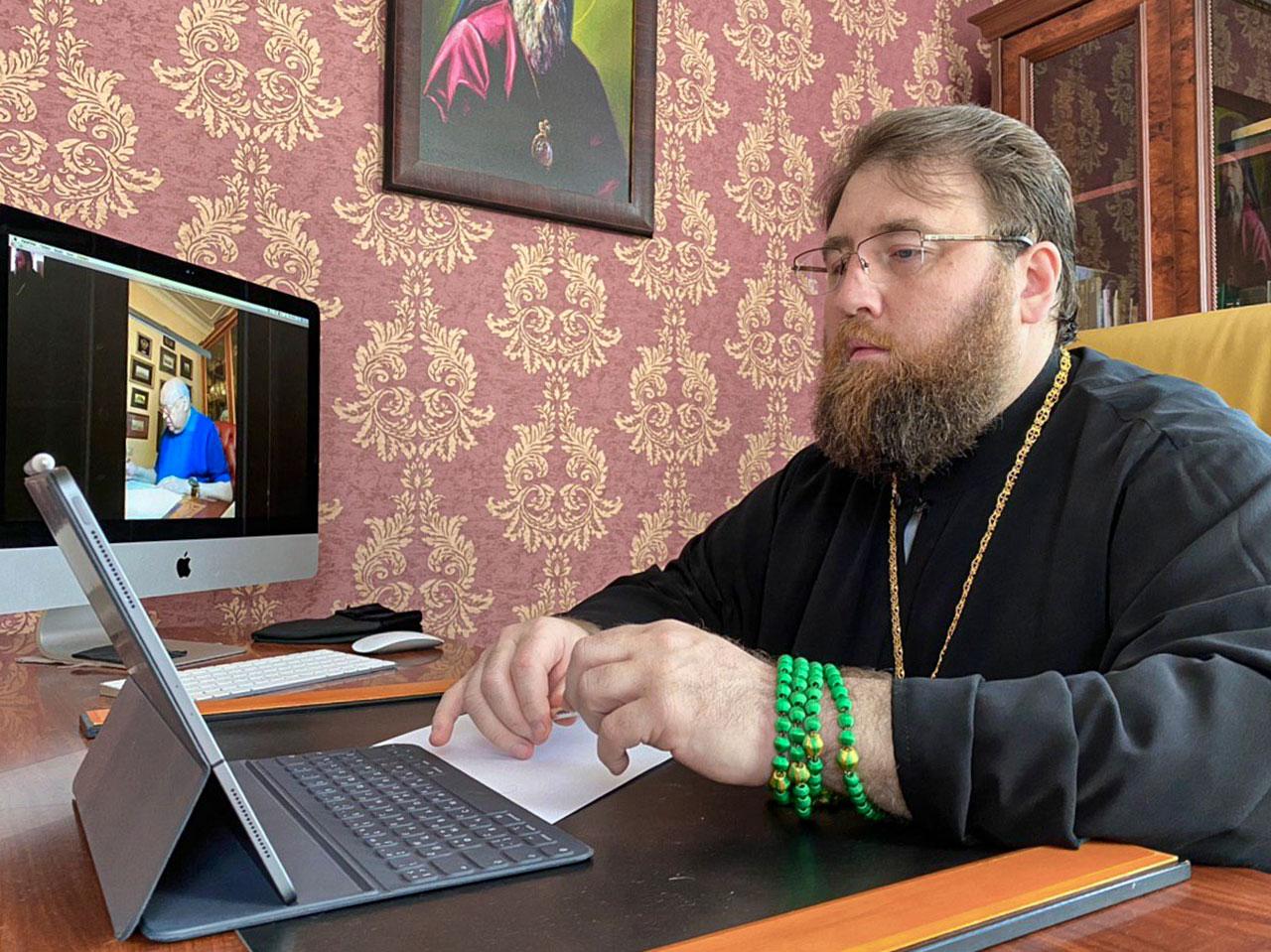Митрополит Игнатий и В.И. Ресин провели совещание по строительству храмов святителя Киприана и святителя Спиридона в Москве