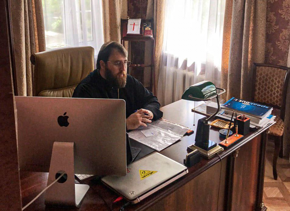 Митрополит Игнатий и В.И. Ресин провели совещание по строительству храмов Живоначальной Троицы и святителя Киприана в Москве