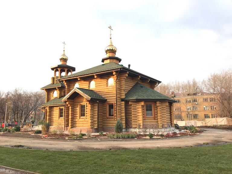 Направлена заявка на ввод в эксплуатацию храма праведного воина Феодора Ушакова в Нагорном