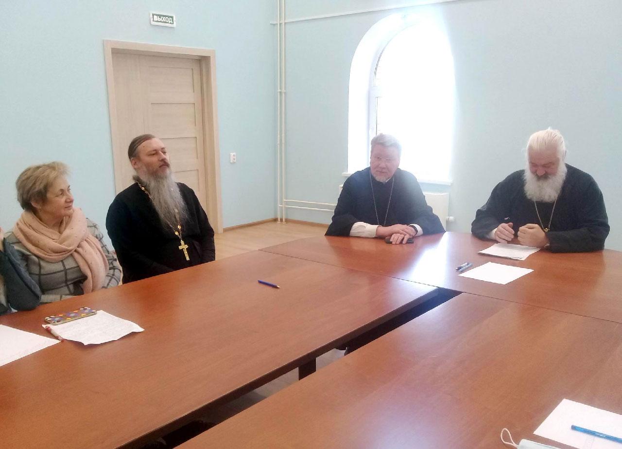 Заседание Приходского собрания в храме Державной иконы Божией Матери в Чертанове