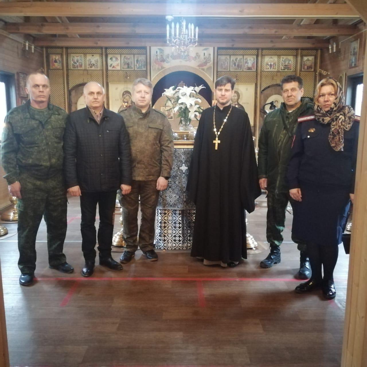 Встреча духовника с казаками ХКО «Чертаново-Южное»