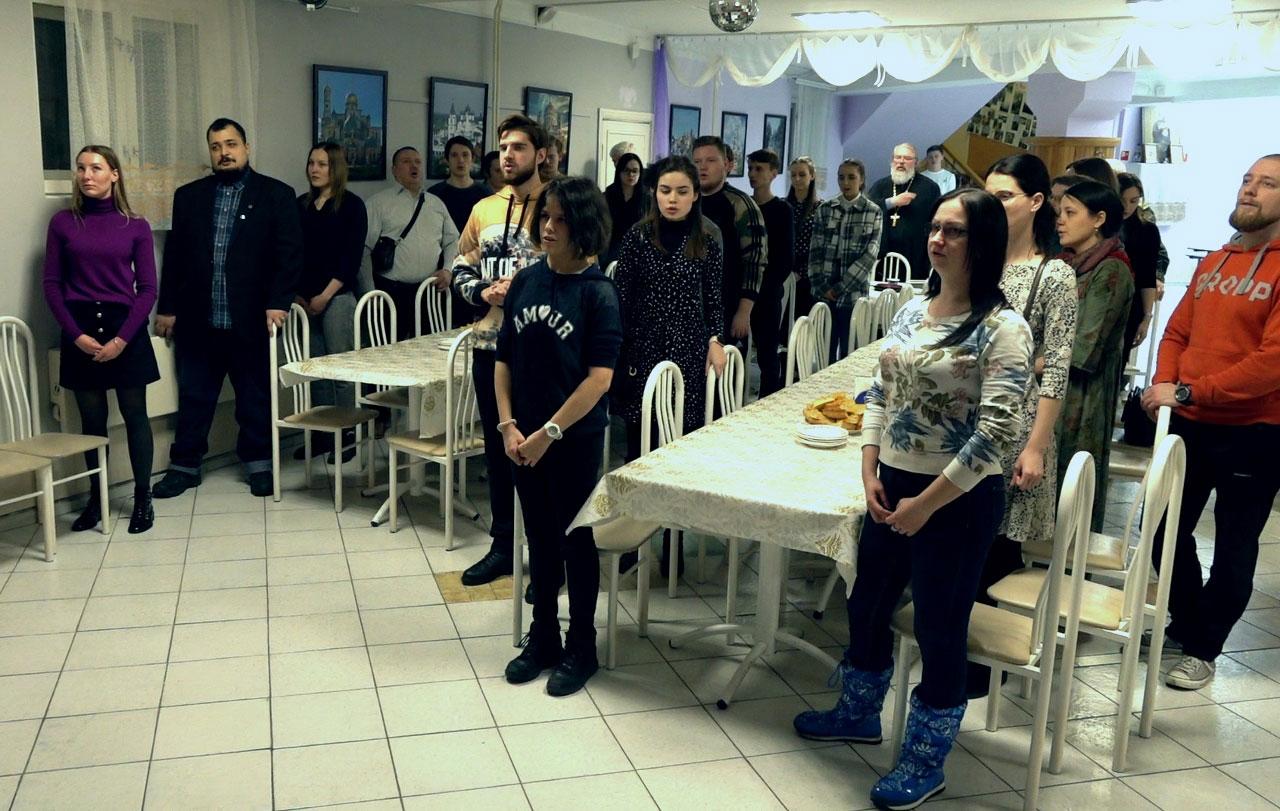 Встреча выпускников в старшей гимназии Православного центра непрерывного образования во имя прп. Серафима Саровского