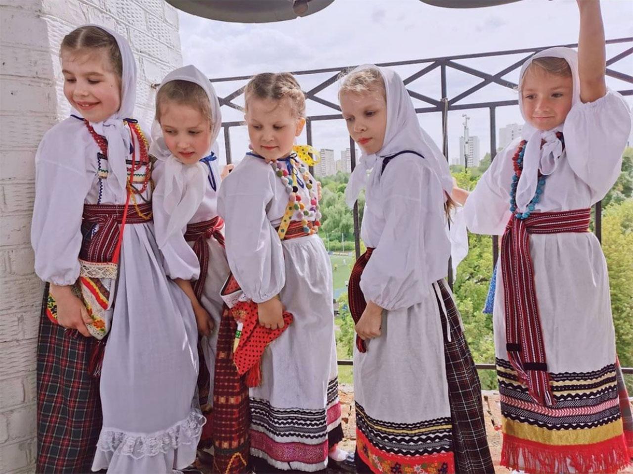 Пасхальный праздник в храме Живоначальной Троицы в Борисове