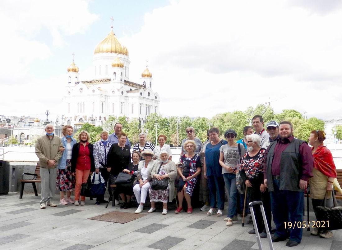 Теплоходная экскурсия по Москве-реке для членов Всероссийского Общества инвалидов Нагорный