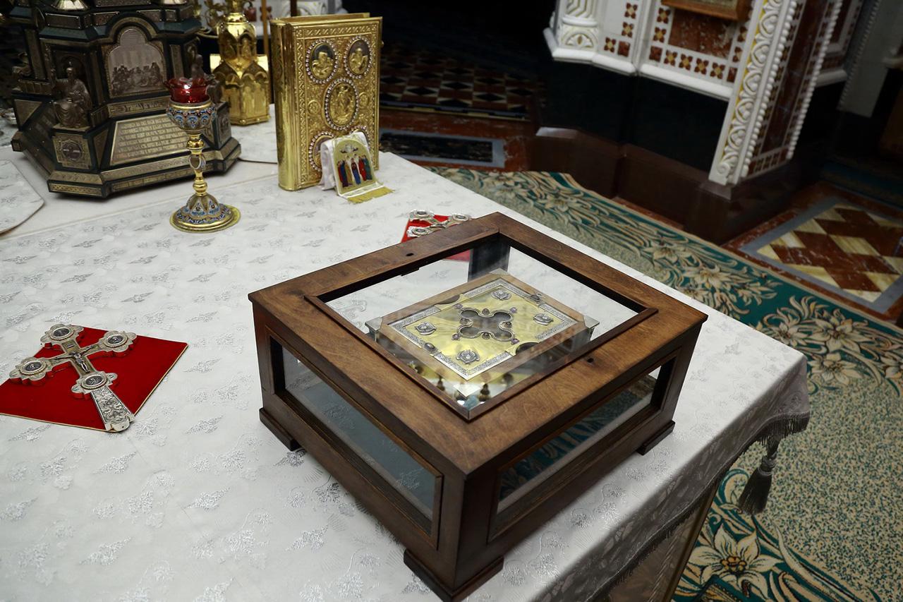 В Троице-Сергиеву Лавру привезут ковчег с мощами святого князя Александра Невского