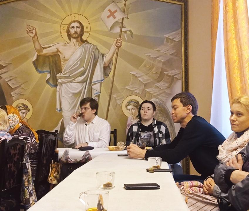29 мая 2021 года в приходском доме храма Воскресения Словущего в Даниловской слободе состоялся лекторий