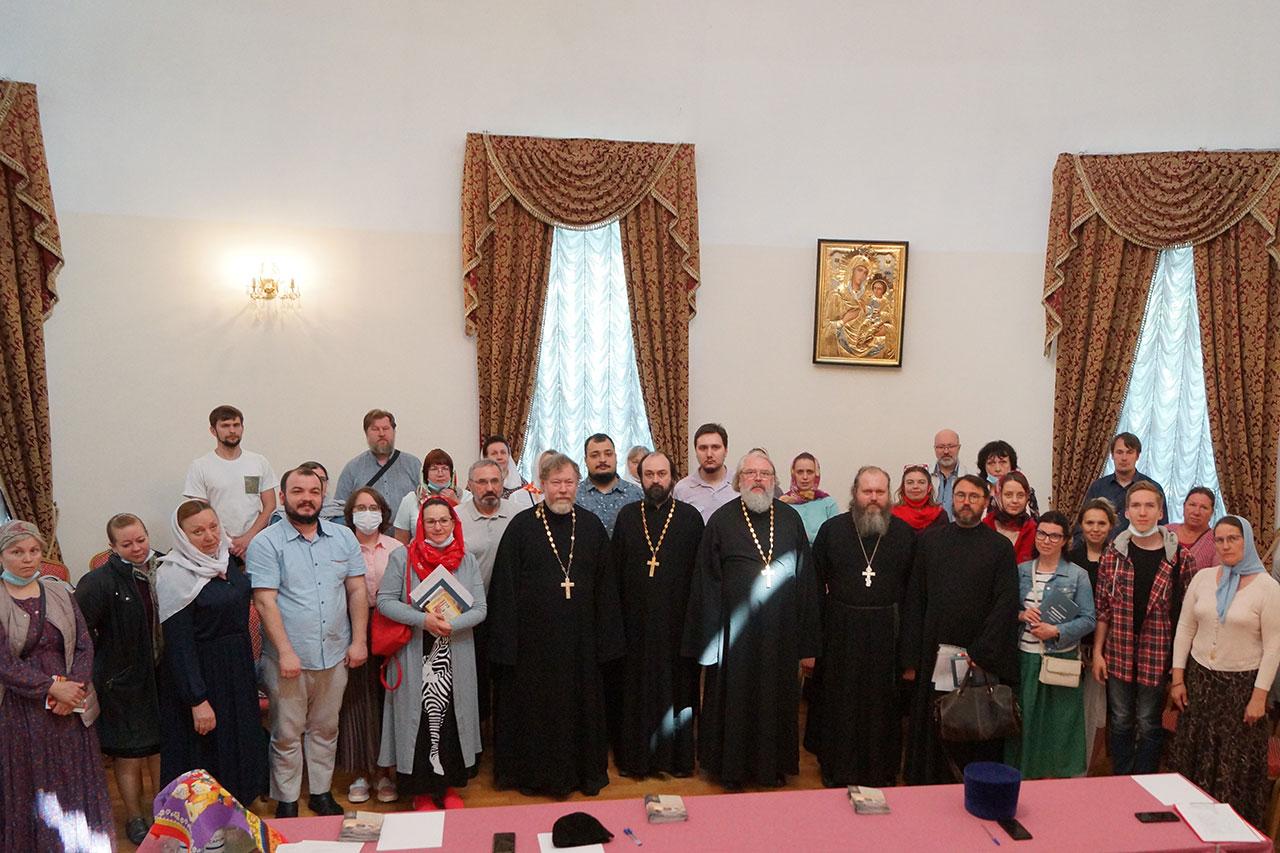 Собрание социальных работников приходов храмов Южного викариатства