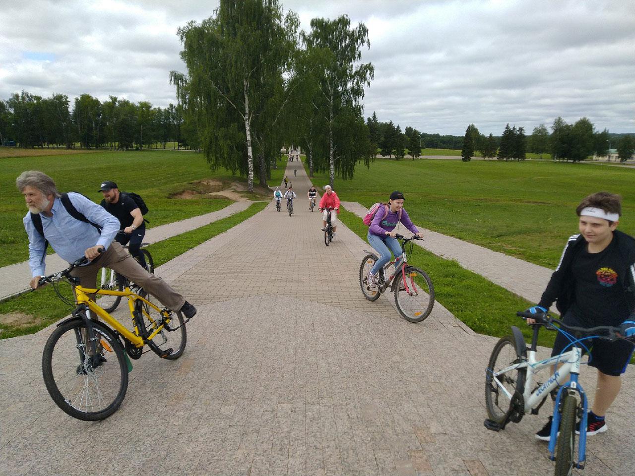 Велопробег по Бородинскому полю