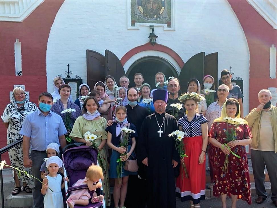 День семьи в храме Живоначальной Троицы в Борисове