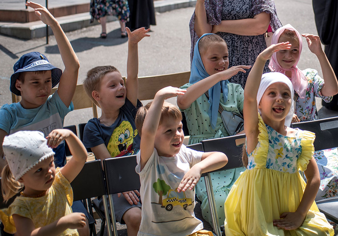 Сергиев день в храме Живоначальной Троицы в Борисове