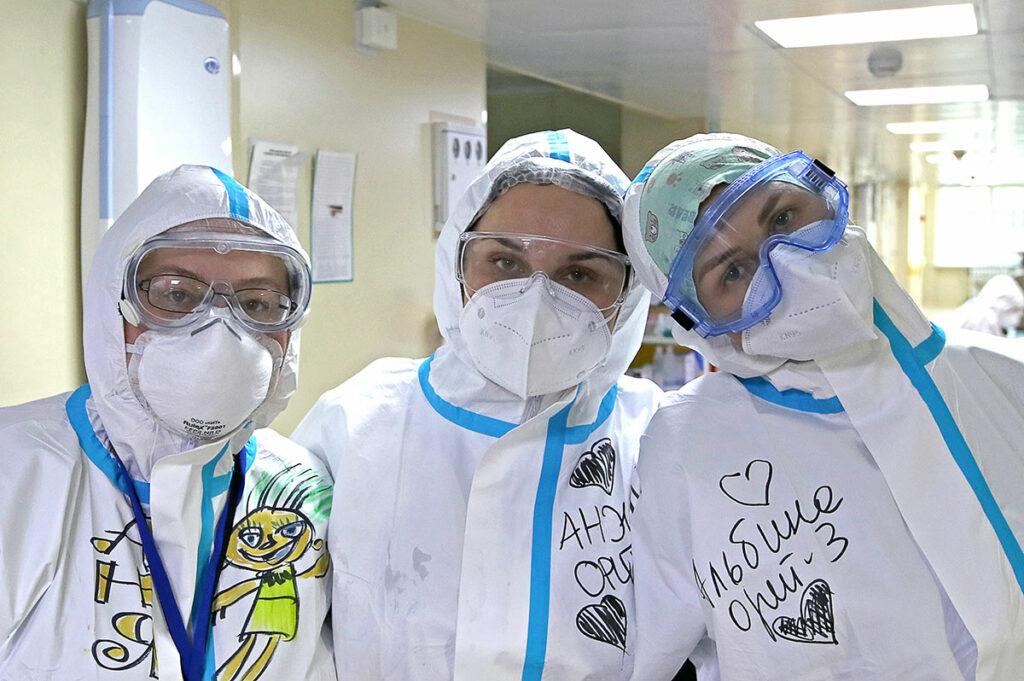 Приглашаем на краткие курсы по подготовке добровольцев для ковидных «красных зон» в больницах