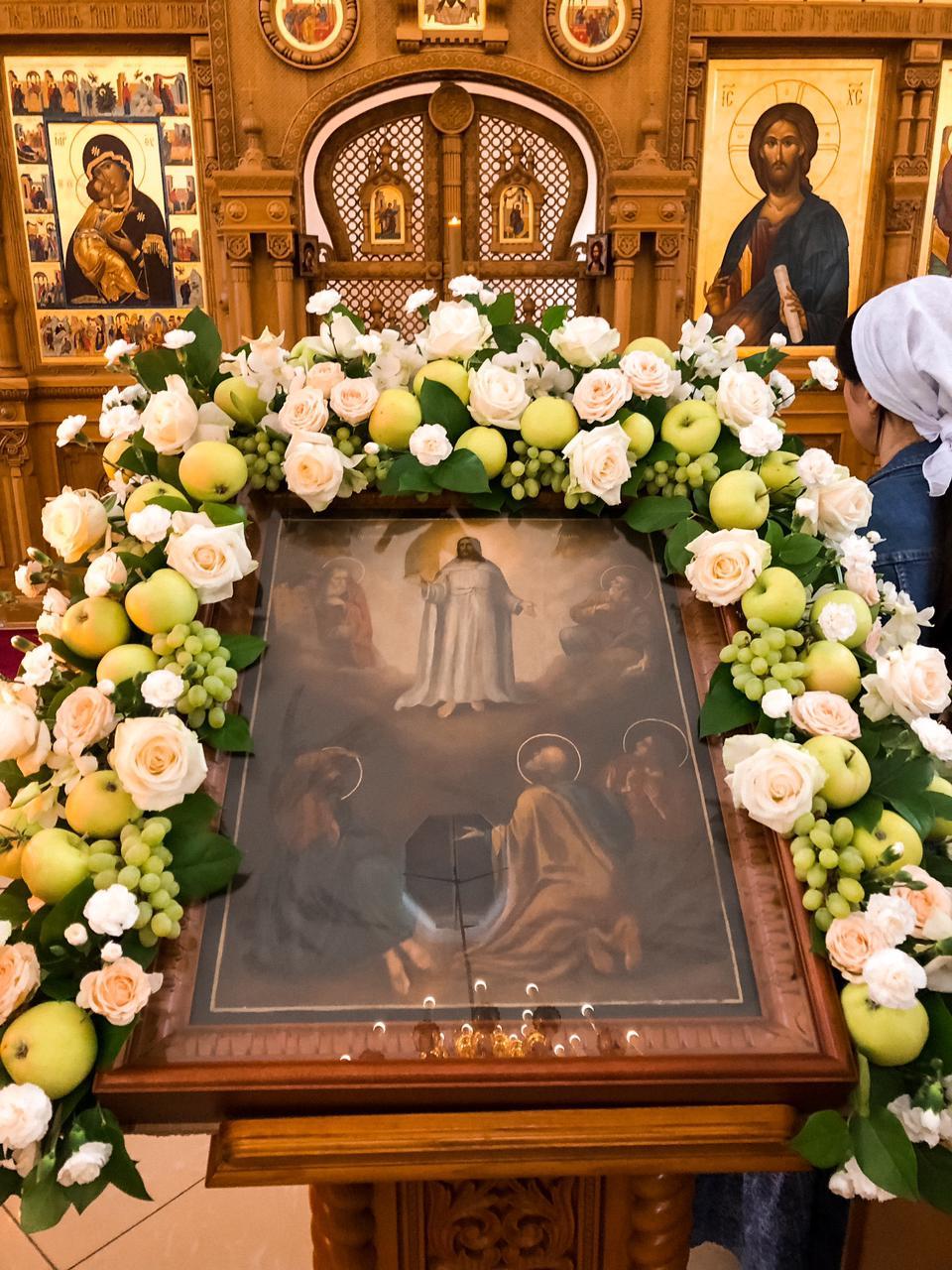 Преображение Господне в Храме Входа Господня в Иерусалим в Бирюлеве Восточном